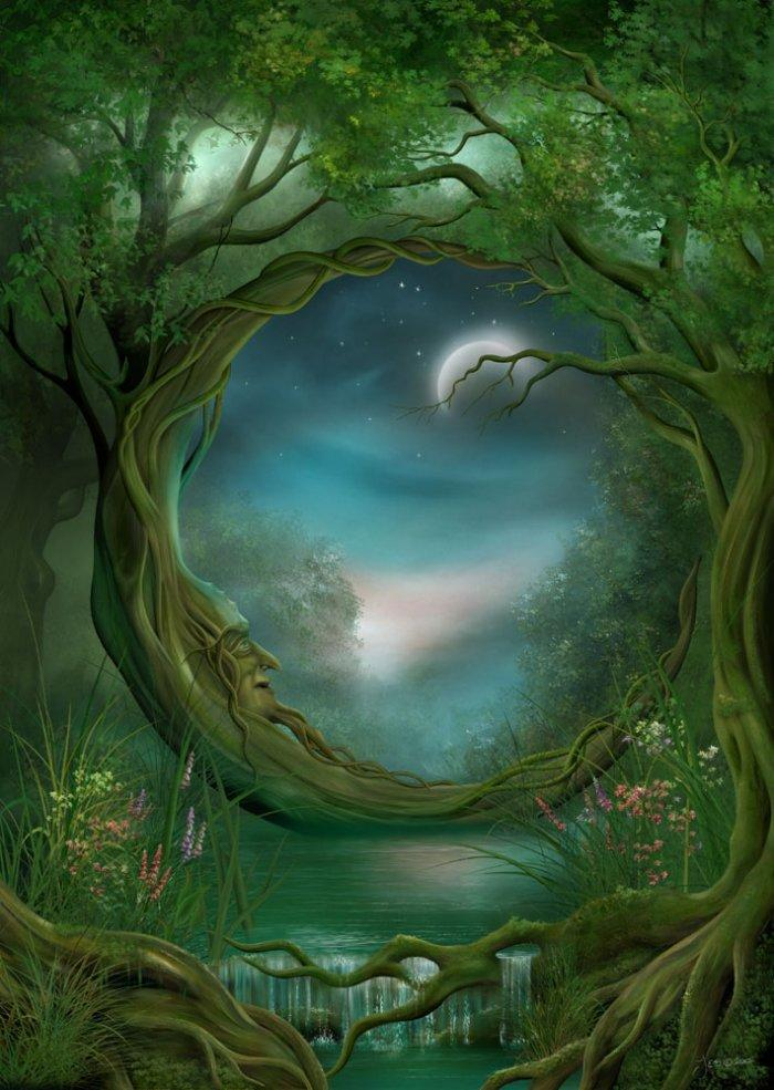 tree free greetings and fantasy art author becky benishek