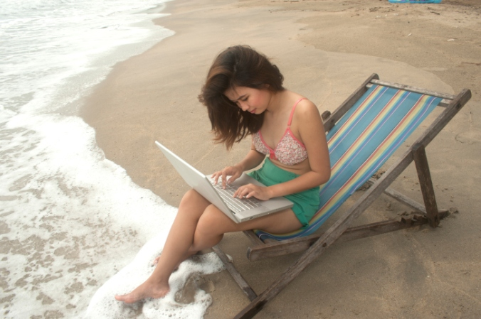 laptop_beach