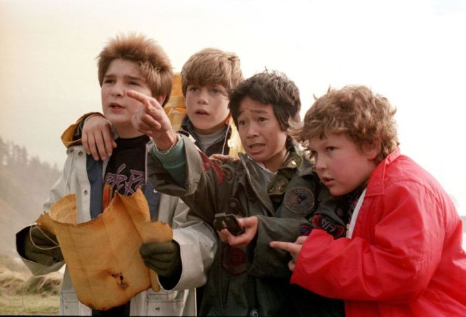 This picture doesn't exactly represent our company, but I love the Goonies.