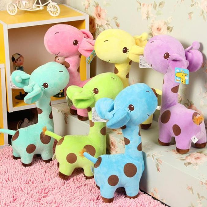 Bear-Leader-1-X-Cute-Gift-Plush-Giraffe-Soft-Toy-Animal-Dear-Doll-Baby-Kid-Child