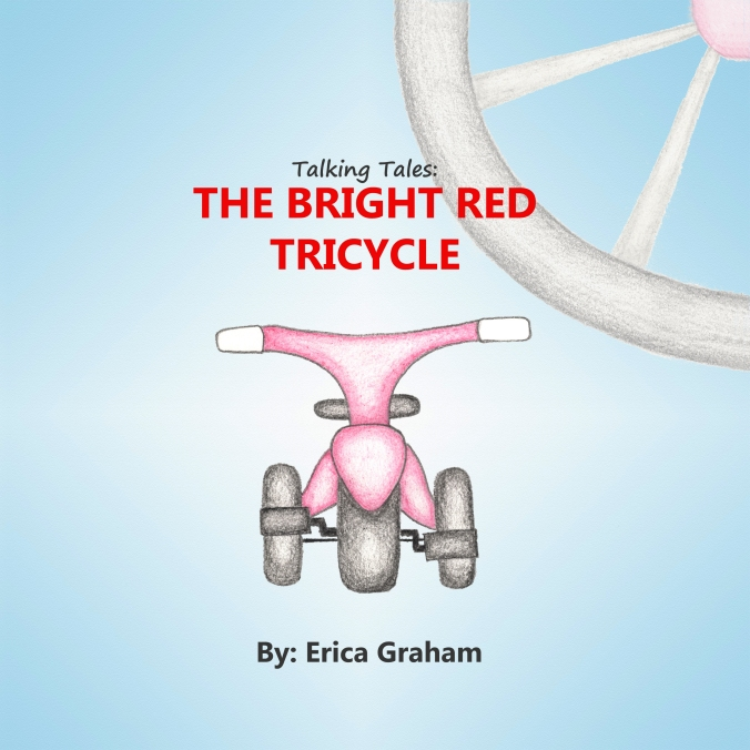 The Bright Red Tricycle Cover darkened